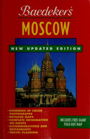 Cover of: Moscow/Book and Map (Baedeker's Moscow) by SONS