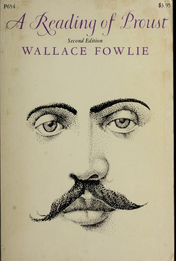 A reading of Proust by Wallace Fowlie