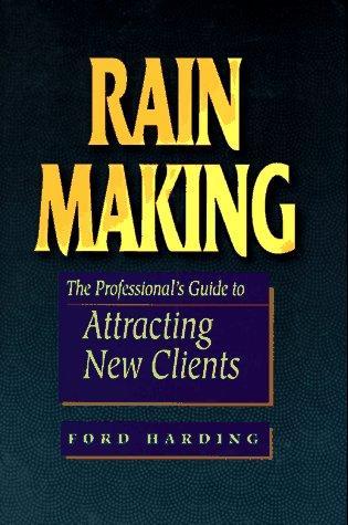 Rain making