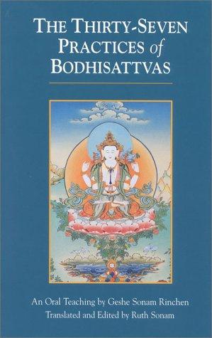 The thirty seven practices of Bodhisattvas by Rgyal-sras Thogs-med-dpal Bzaṅ-po-dpal