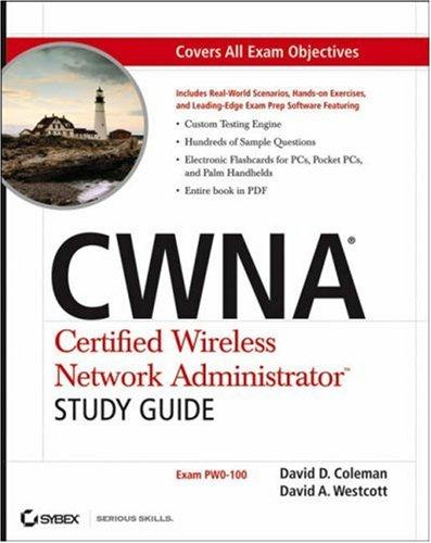 CWNA Certified Wireless Network Administrator study guide by