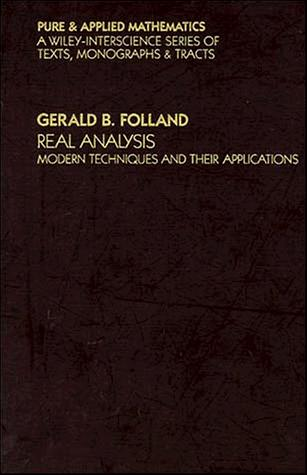 Real analysis by G. B. Folland