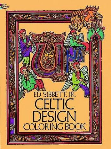 Celtic Design Coloring Book by Ed Sibbett