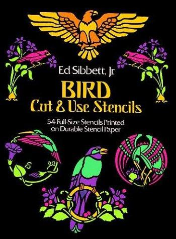 Bird Cut & Use Stencils (Picture Archives) by Ed Sibbett