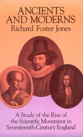 Ancients and moderns by Richard Foster Jones