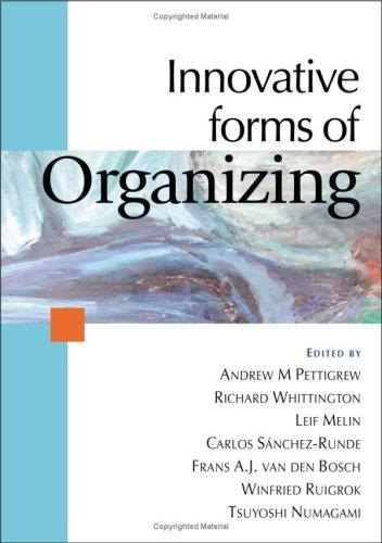 Innovative forms of organizing by