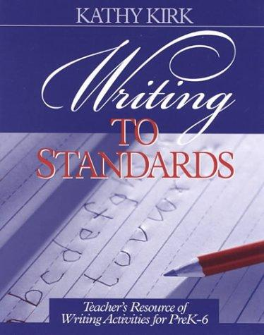 Writing to Standards
