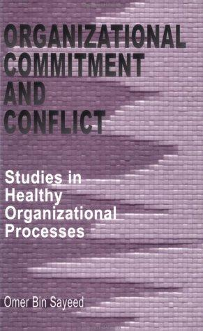 Organizational Commitment and Conflict