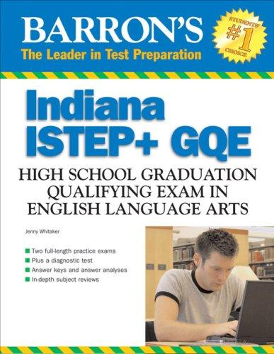 Barron's Indiana ISTEP + GQE English Language Arts by Jenny Whitaker