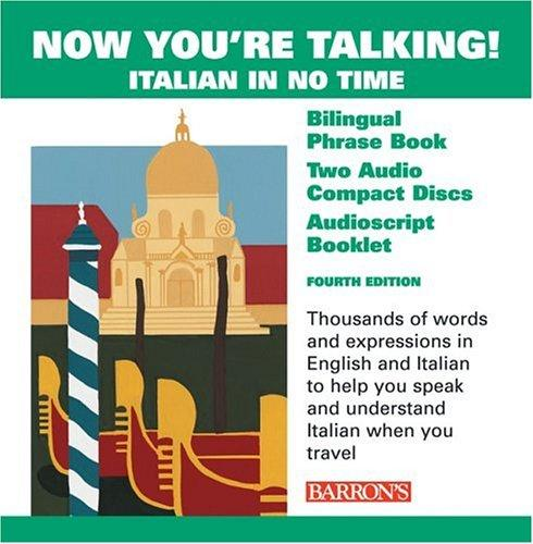 Now You're Talking Italian with CDs by Mario Costantino