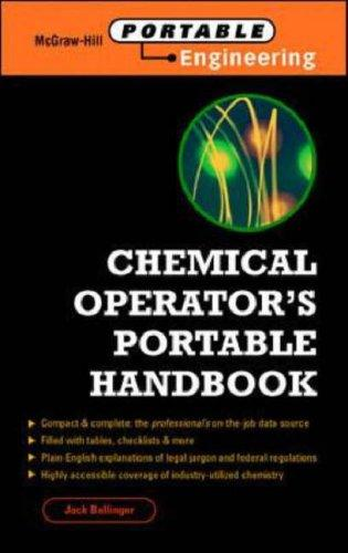 Chemical Operator's Portable Handbook by Jack T. Ballinger