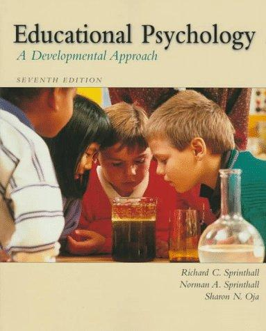 Educational psychology by Richard C. Sprinthall