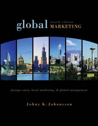 Global marketing by Johny Johansson
