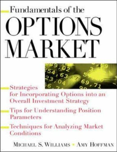 Fundamentals of the options market by