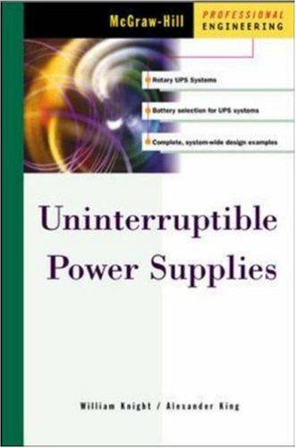 Uninterruptible power supplies and standby power systems by