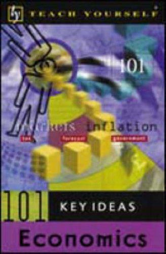 Teach Yourself 101 Key Ideas Economics by Keith Brunskill
