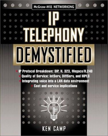 IP Telephony Demystified by Ken Camp