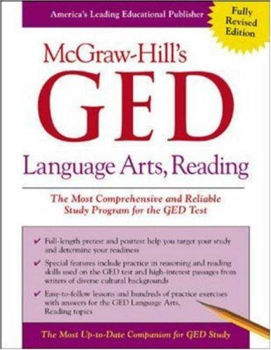 McGraw-Hill's GED Language Arts, Reading by John Reier
