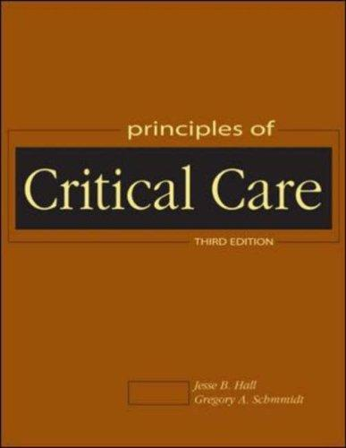 Principles of critical care by