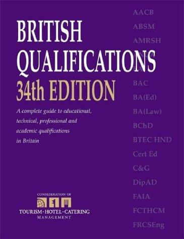British Qualifications by Kogan Page