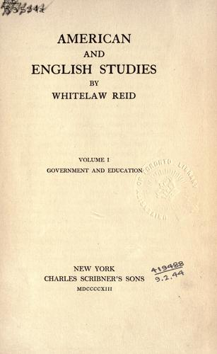 American and English studies.