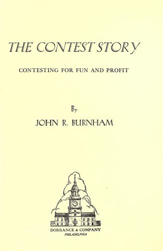 The contest story by John R. Burnham