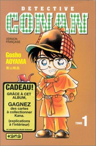 Détective Conan, tome 1 by Gosho Aoyama