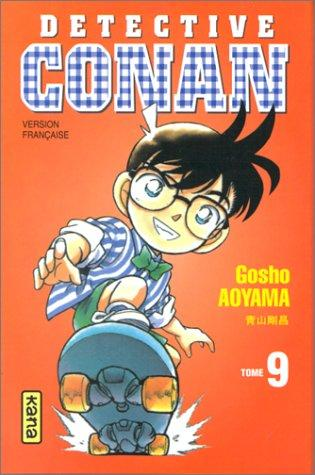 Détective Conan, tome 9 by Gosho Aoyama