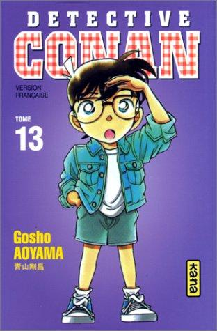 Détective Conan, tome 13 by Gosho Aoyama