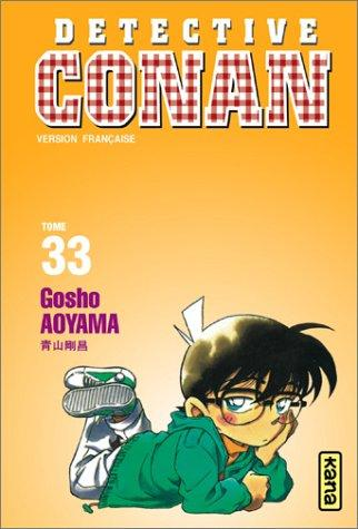 Détective Conan, tome 33 by Gosho Aoyama