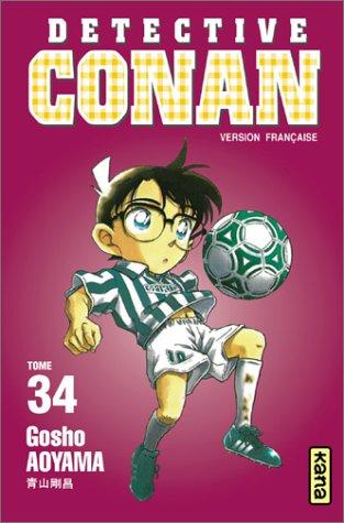 Détective Conan, tome 34 by Gosho Aoyama