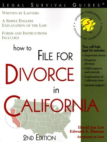 How to file for divorce in California