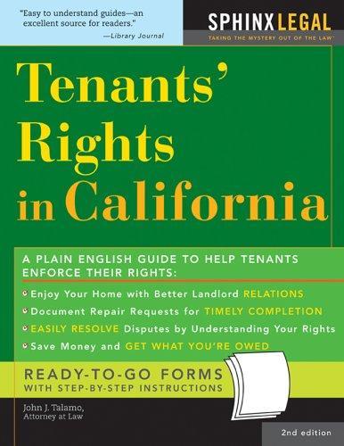 Tenants' rights in California