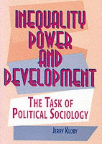 Inequality, Power and Development