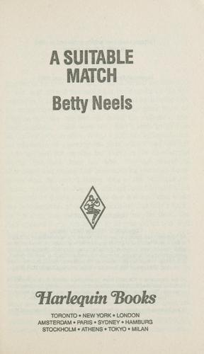 Suitable Match by Betty Neels