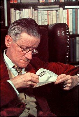 Photo of James Joyce