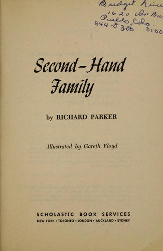Second-hand family.
