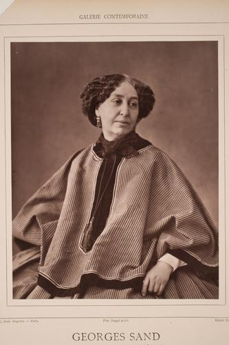 Photo of George Sand