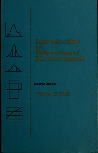 Introduction to educational measurement by Victor Herbert Noll