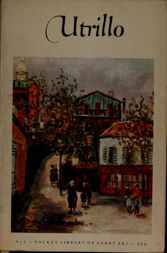 Maurice Utrillo (1883- ) by Utrillo, Maurice