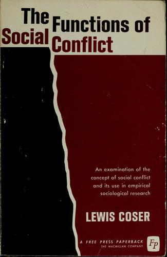 The functions of social conflict.