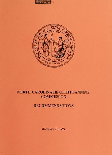 North Carolina Health Planning Commission