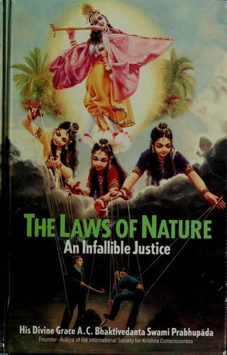 The laws of nature by A. C. Bhaktivedanta Swami Prabhupāda