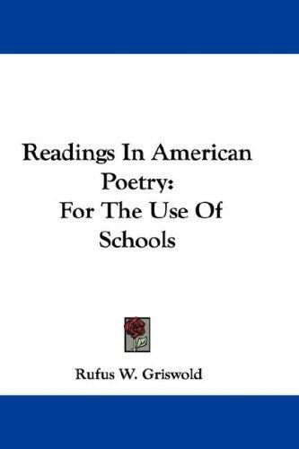 Readings In American Poetry