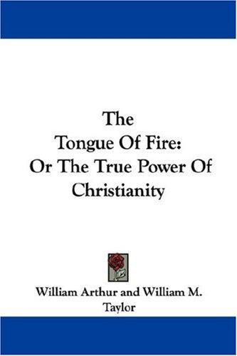 The Tongue Of Fire by William Arthur