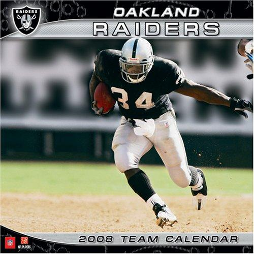 Oakland Raiders 2008 Wall Calendar by John F. Turner