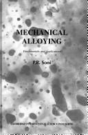 Mechanical alloying by P. R. Soni