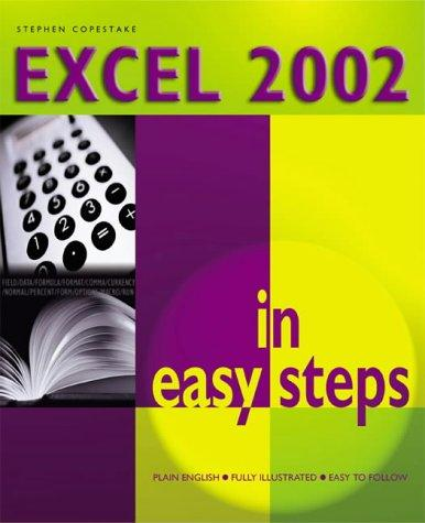 Excel 2002 in Easy Steps by Stephen Copestake