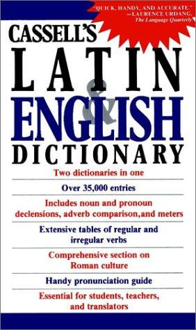 Cassell's Concise Latin-English, English-Latin Dictionary by D. P. Simpson