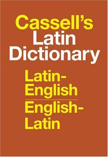 Cassell's Latin Dictionary by D. P. Simpson